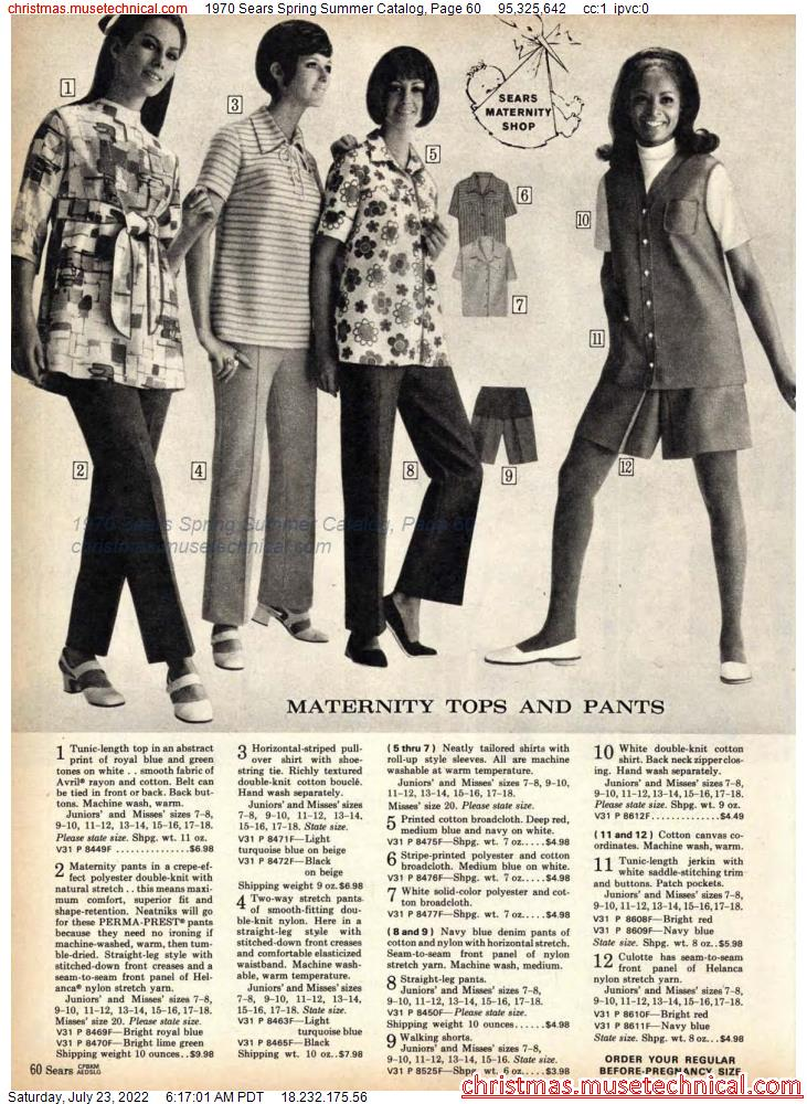 1970 Sears Spring Summer Catalog, Page 60