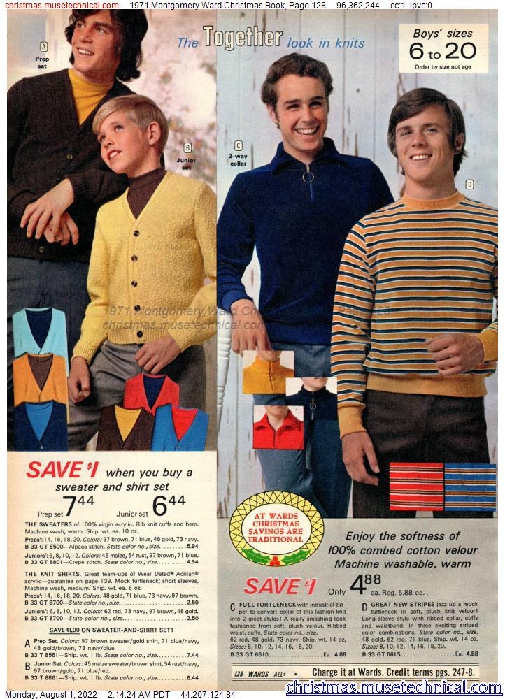 1971 Montgomery Ward Christmas Book, Page 128