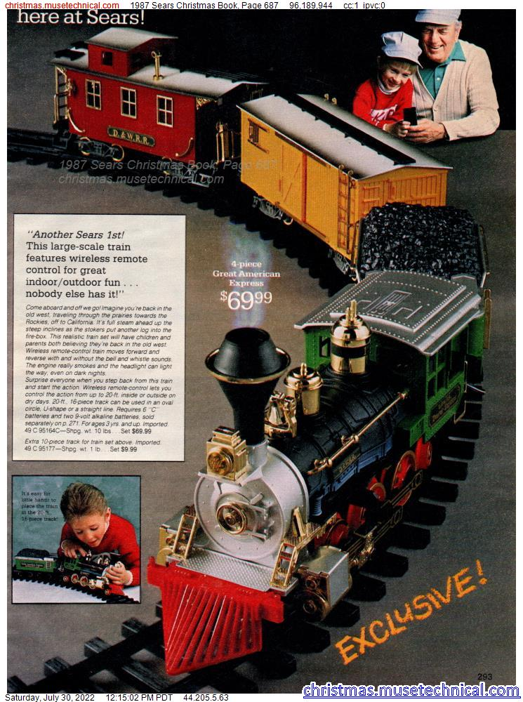 1987 Sears Christmas Book, Page 687