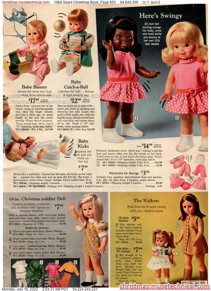 1969 Sears Christmas Book, Page 603