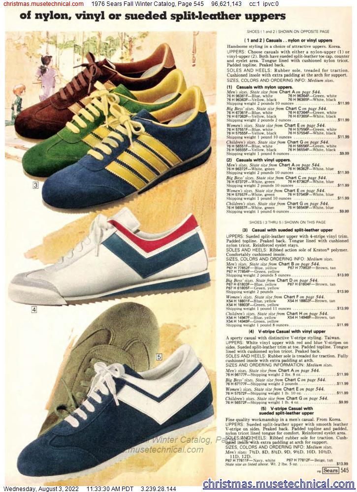 1976 Sears Fall Winter Catalog, Page 545