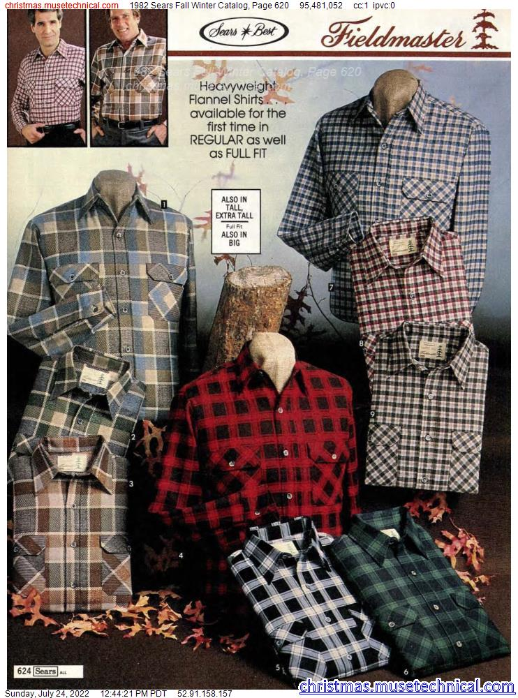 1982 Sears Fall Winter Catalog, Page 620