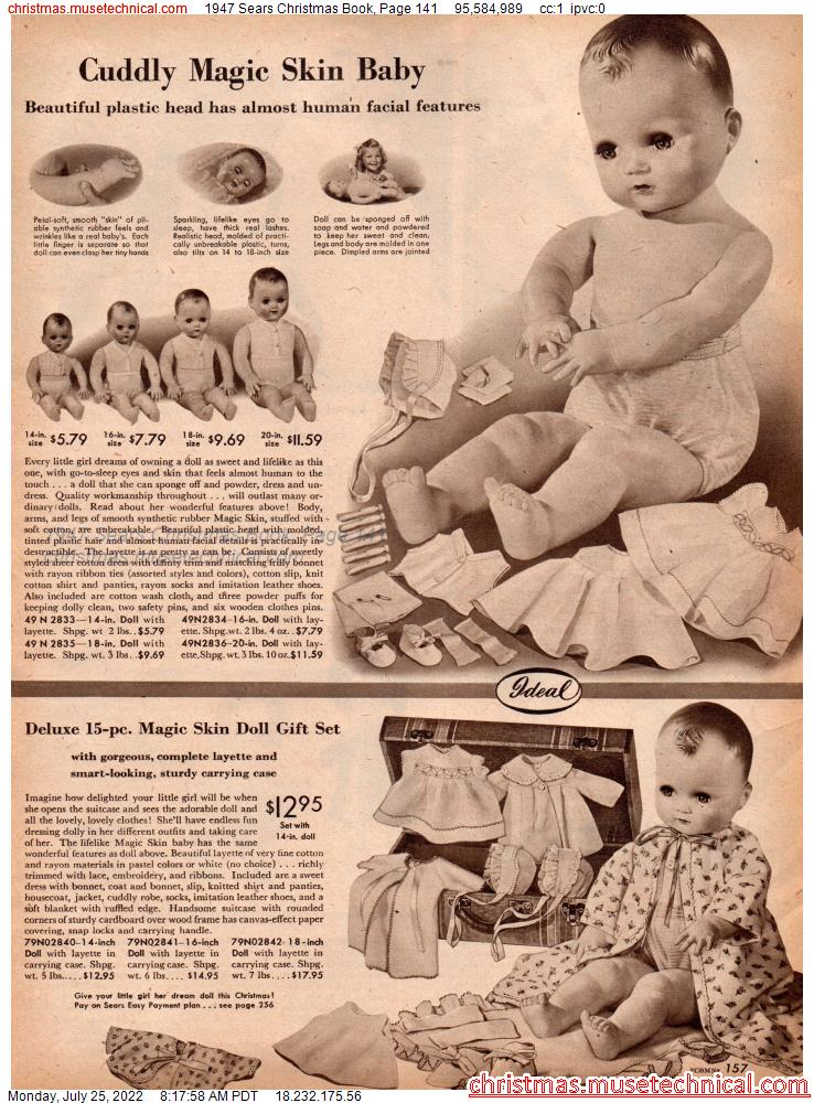 1947 Sears Christmas Book, Page 141