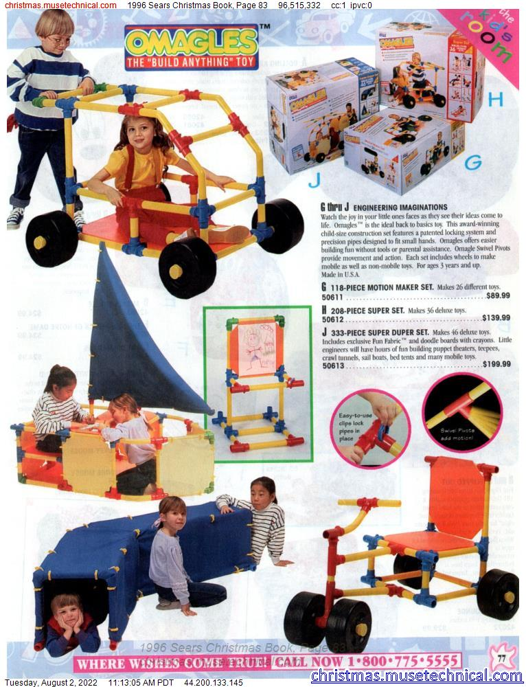 1996 Sears Christmas Book, Page 83