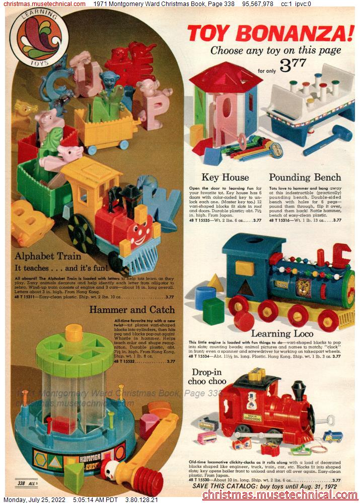 1971 Montgomery Ward Christmas Book, Page 338