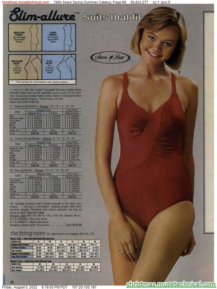 1984 Sears Spring Summer Catalog, Page 68