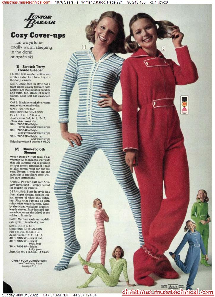 1976 Sears Fall Winter Catalog, Page 221