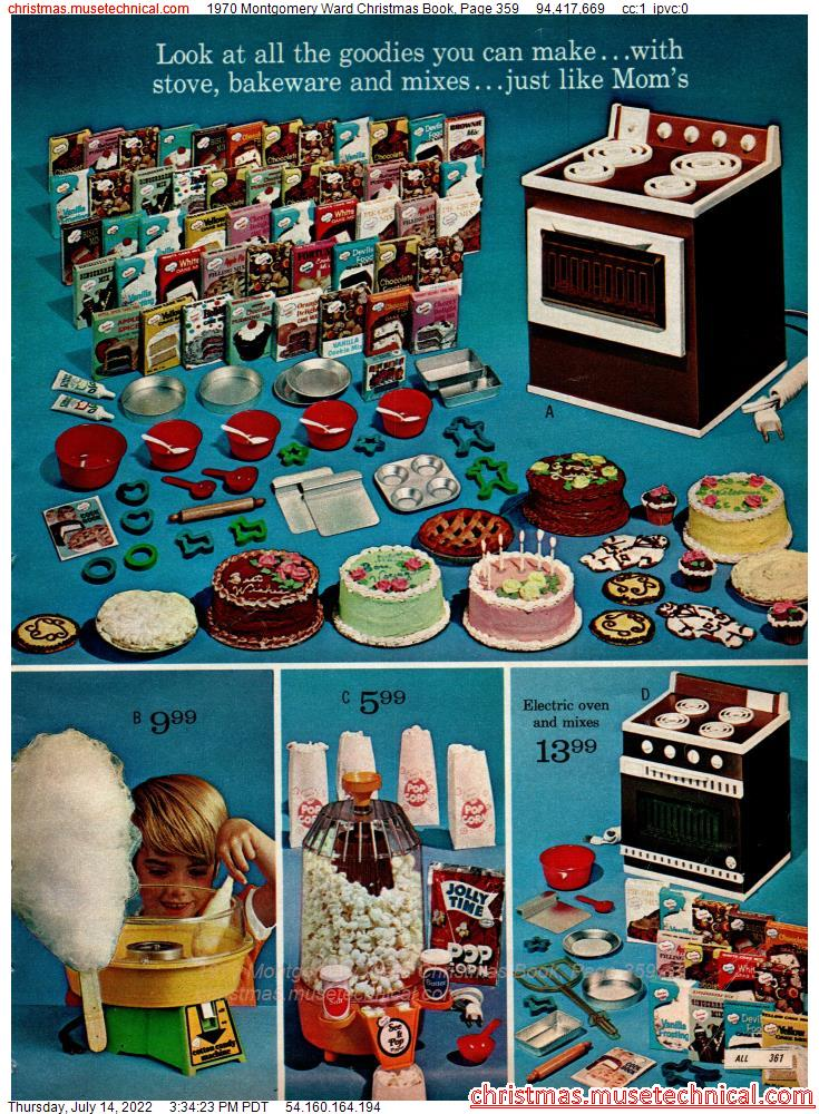 1970 Montgomery Ward Christmas Book, Page 359
