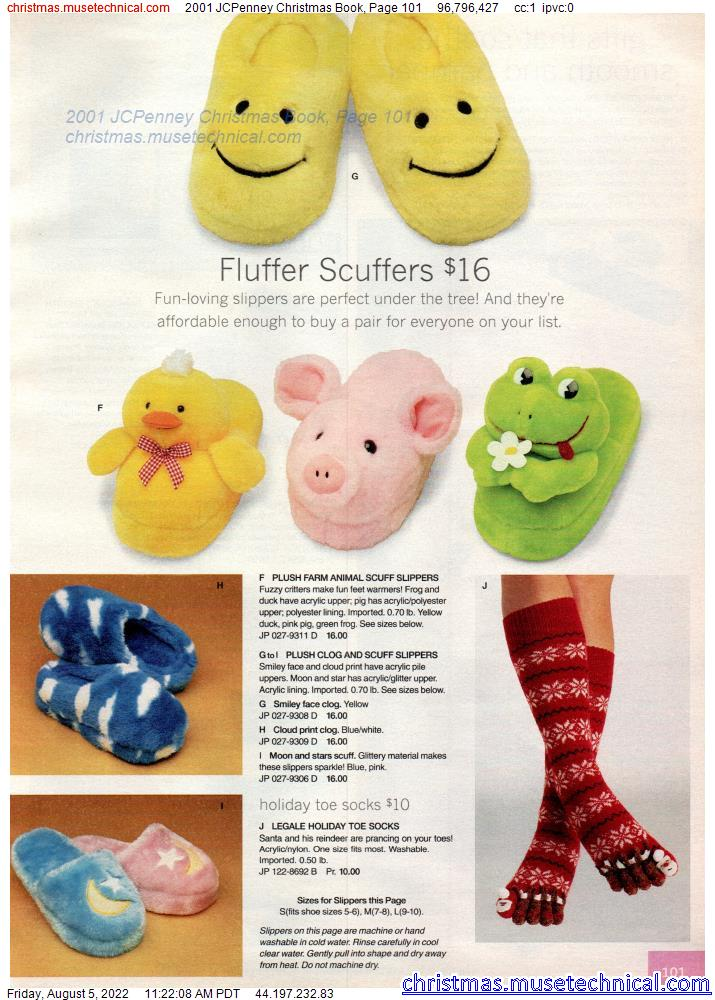 2001 JCPenney Christmas Book, Page 101
