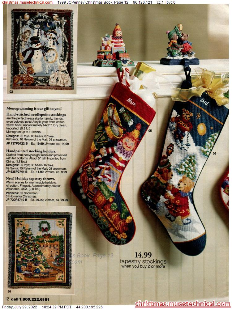 1999 JCPenney Christmas Book, Page 12