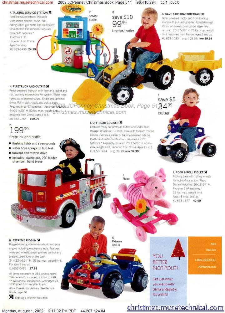 2003 JCPenney Christmas Book, Page 511