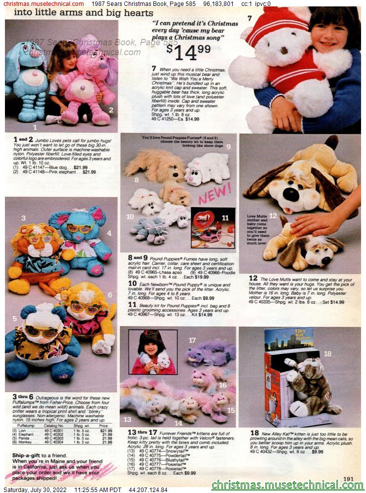 1987 Sears Christmas Book, Page 585