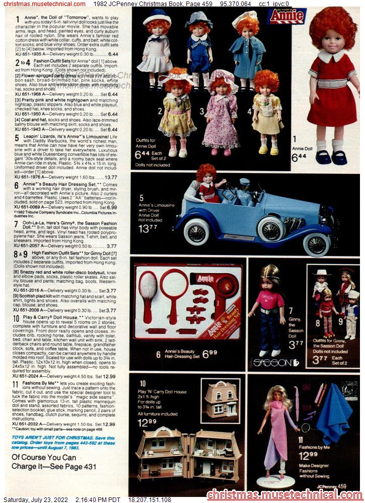 1982 JCPenney Christmas Book, Page 459