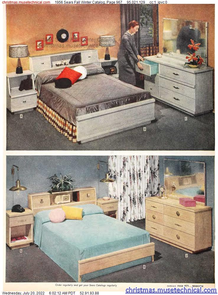 1956 Sears Fall Winter Catalog, Page 967