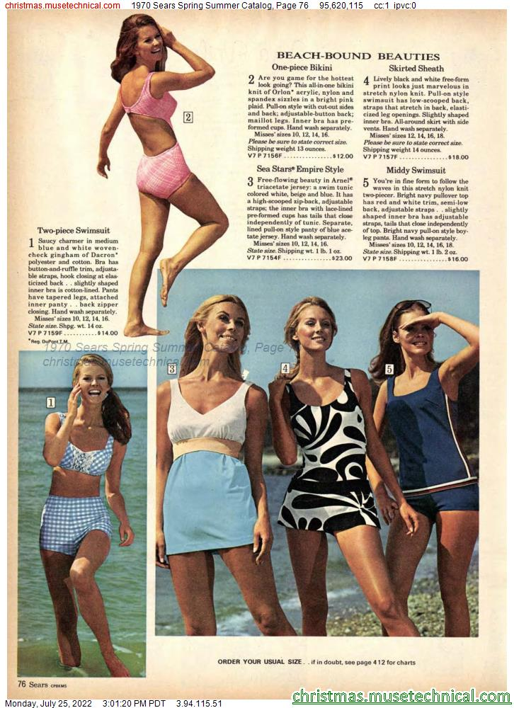 1970 Sears Spring Summer Catalog, Page 76