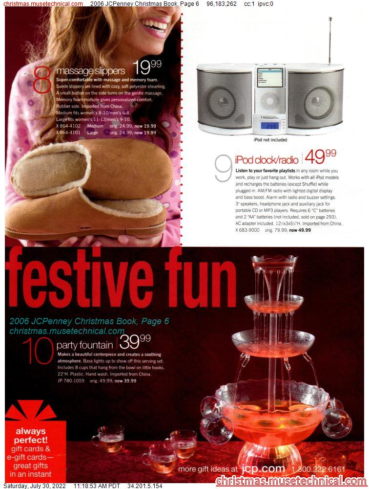 2006 JCPenney Christmas Book, Page 6