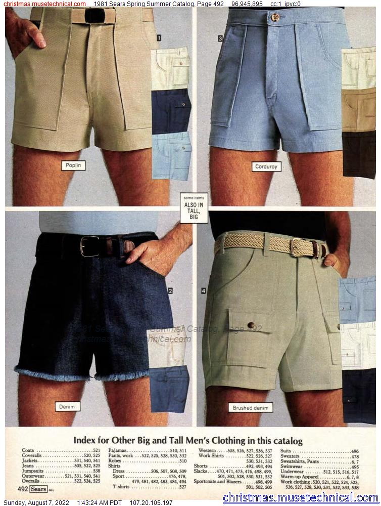 1981 Sears Spring Summer Catalog, Page 492