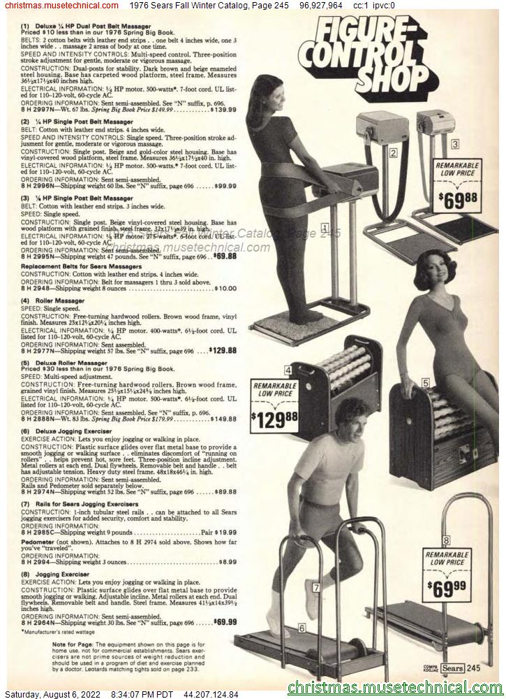 1976 Sears Fall Winter Catalog, Page 245