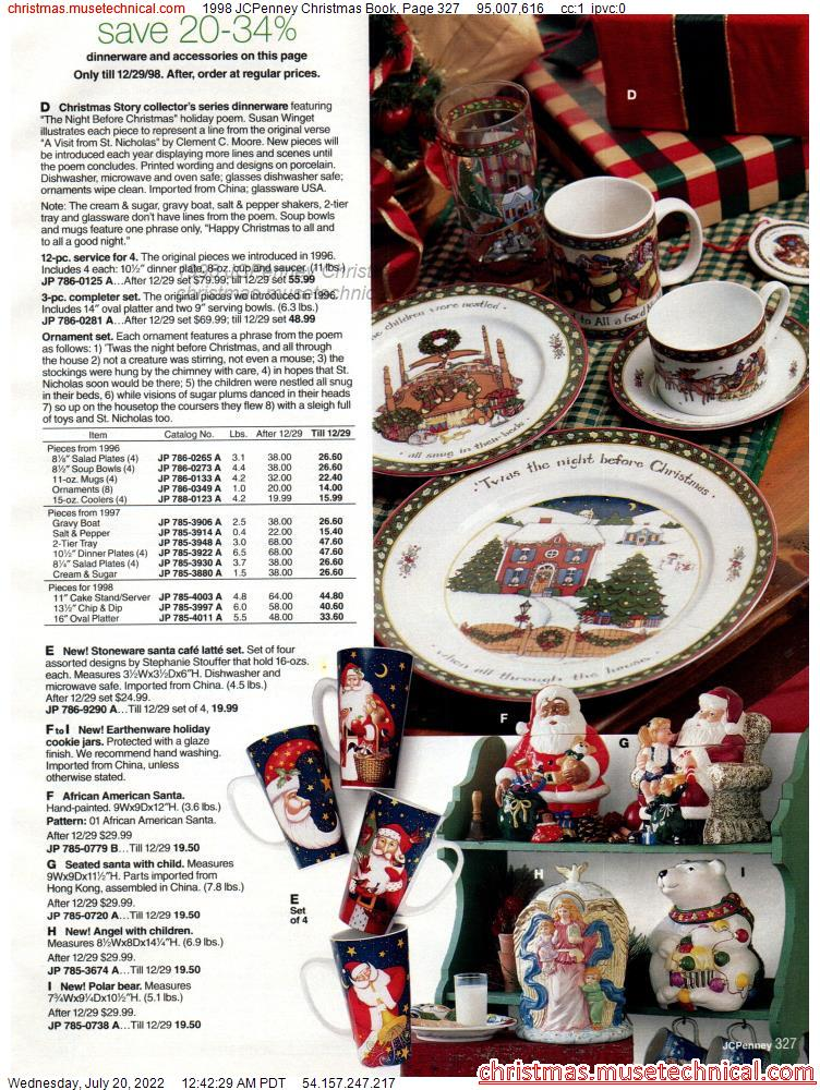 1998 JCPenney Christmas Book, Page 327