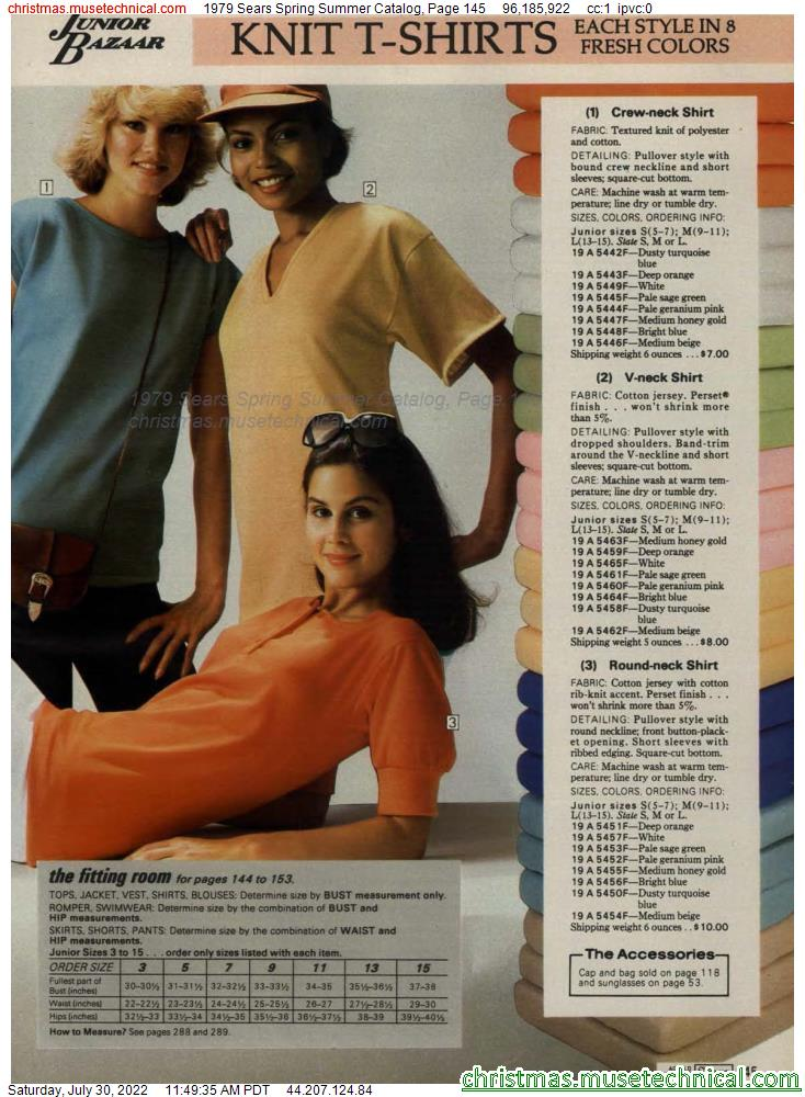 1979 Sears Spring Summer Catalog, Page 145