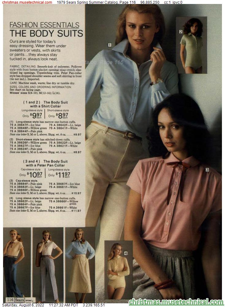 1979 Sears Spring Summer Catalog, Page 116