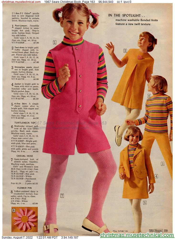1967 Sears Christmas Book, Page 163