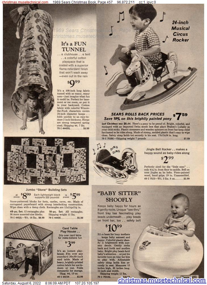 1969 Sears Christmas Book, Page 457