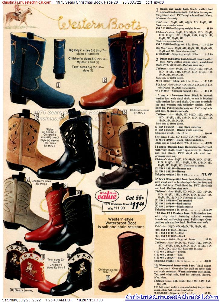 1975 Sears Christmas Book, Page 20