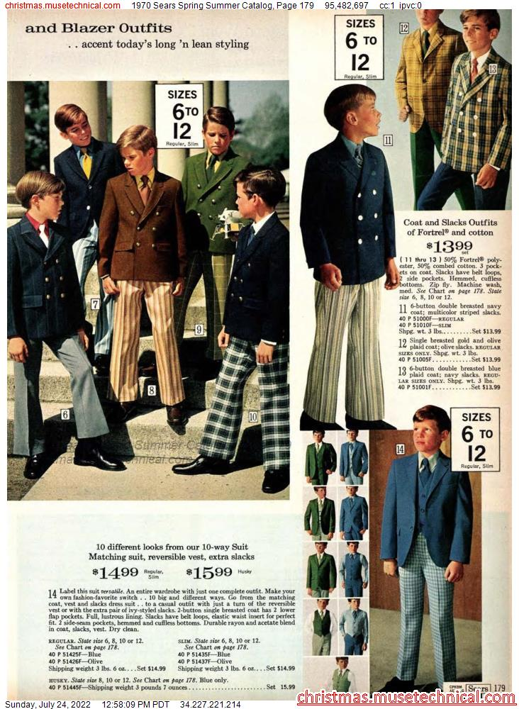 1970 Sears Spring Summer Catalog, Page 179