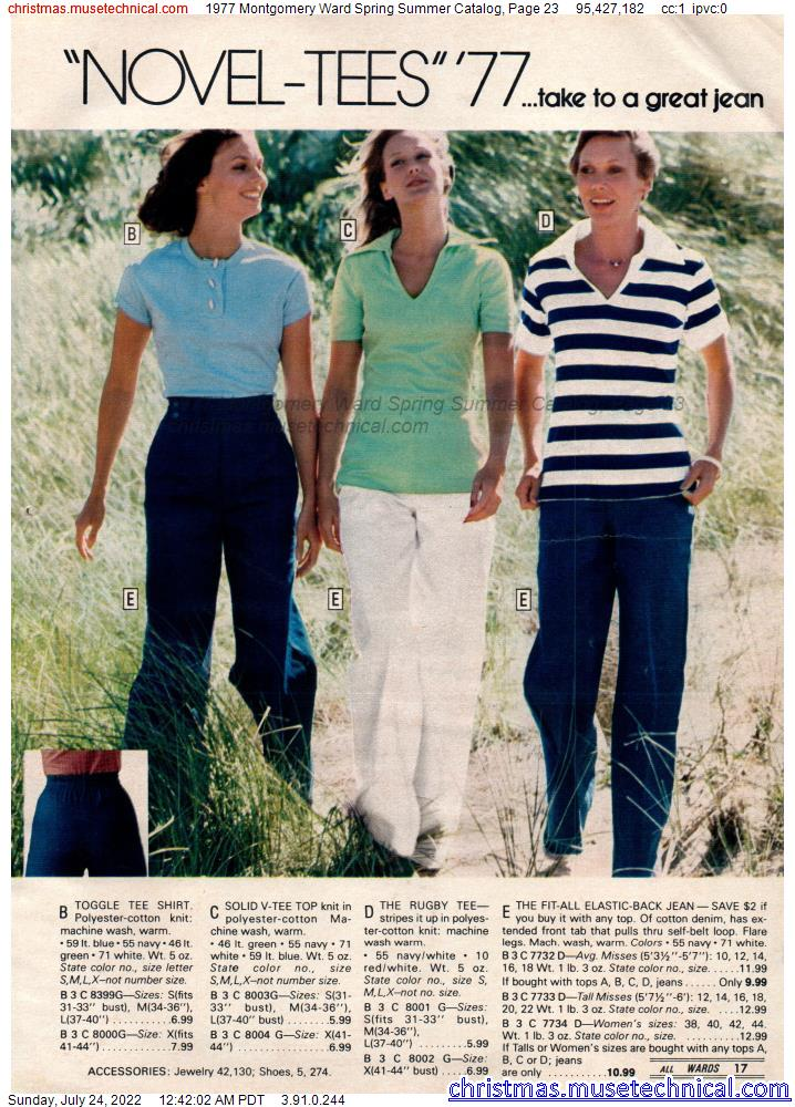 1977 Montgomery Ward Spring Summer Catalog, Page 23