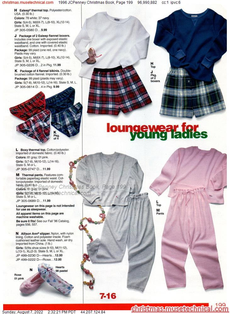1996 JCPenney Christmas Book, Page 199