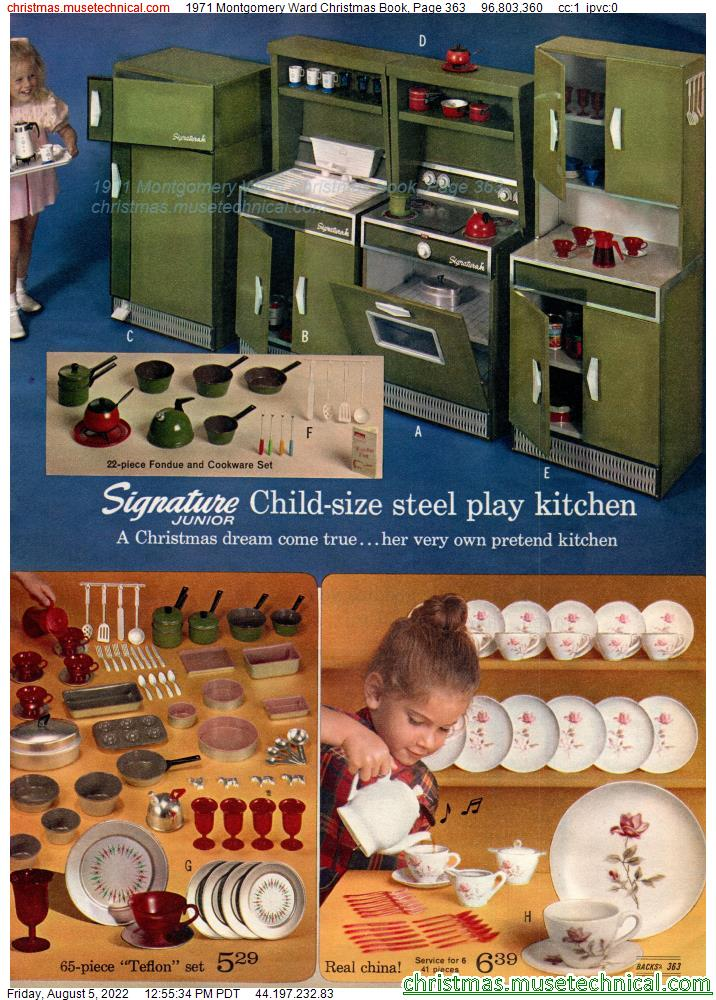 1971 Montgomery Ward Christmas Book, Page 363