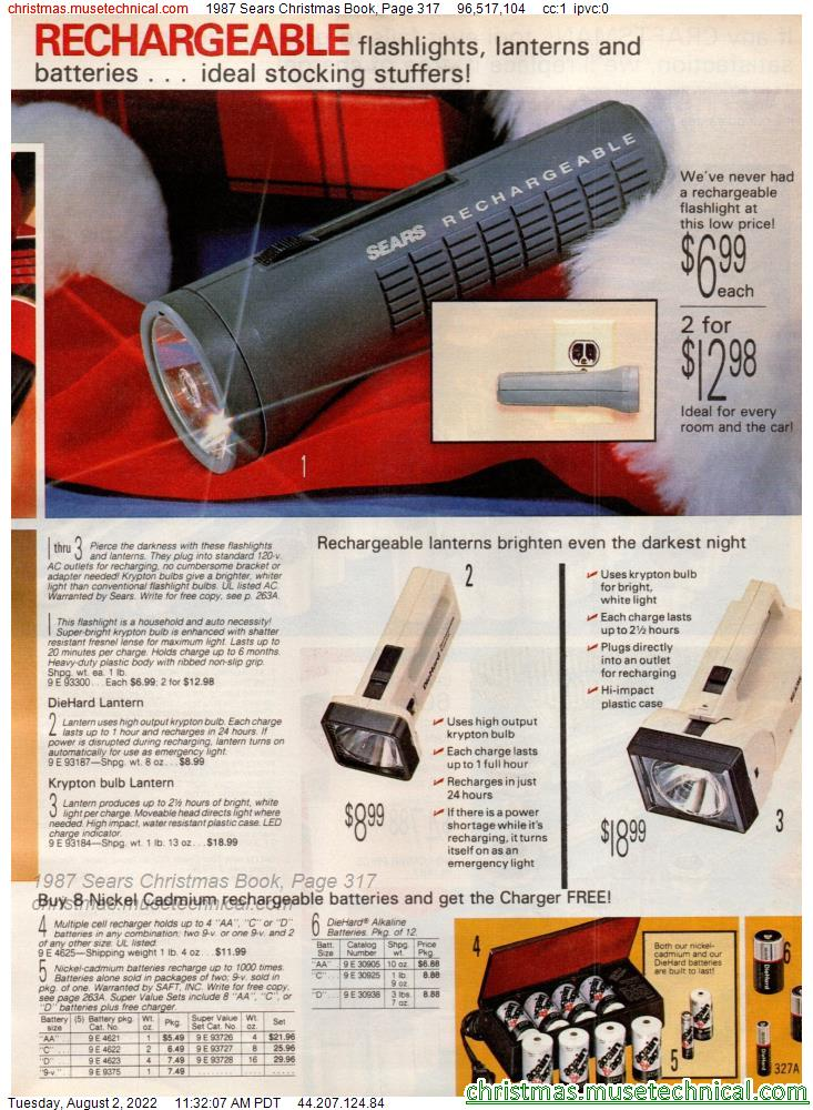 1987 Sears Christmas Book, Page 317