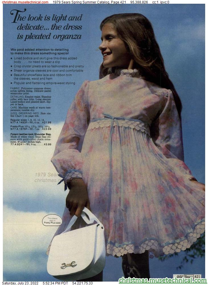 1979 Sears Spring Summer Catalog, Page 421