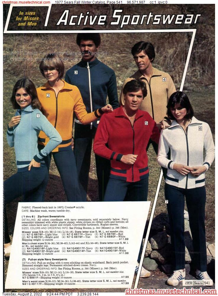 1977 Sears Fall Winter Catalog, Page 541