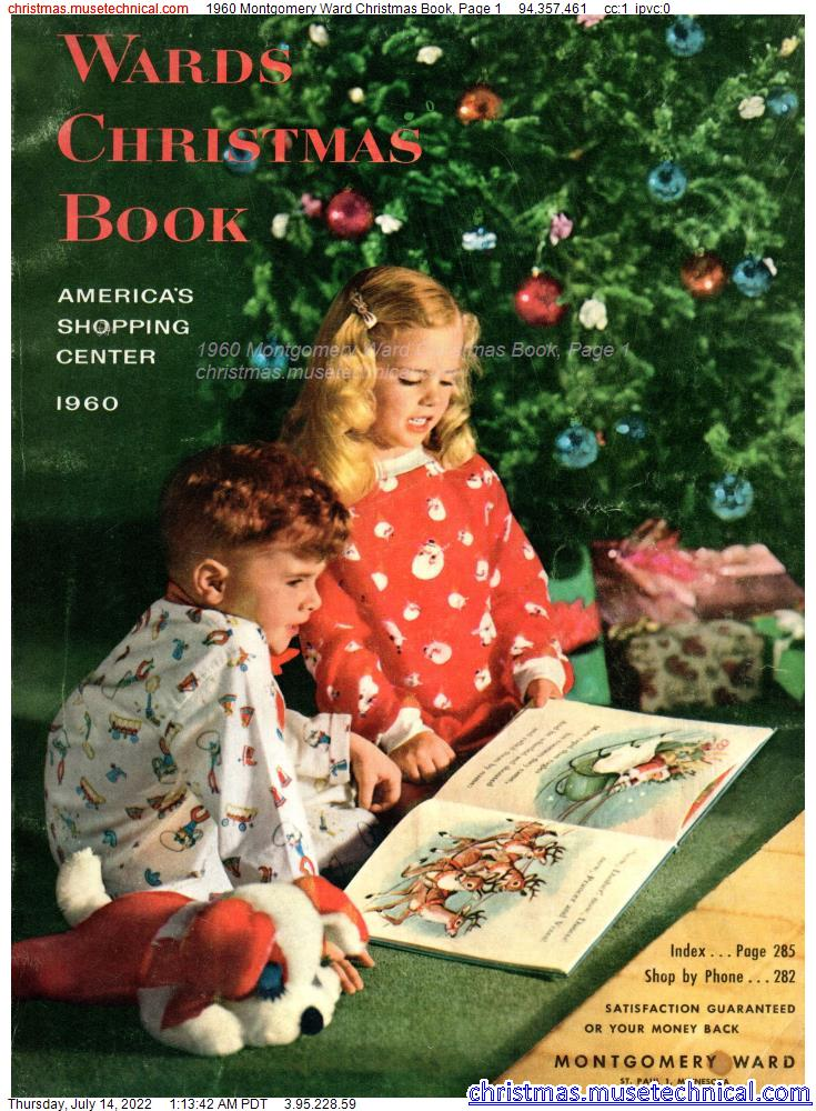 1960 Montgomery Ward Christmas Book, Page 1