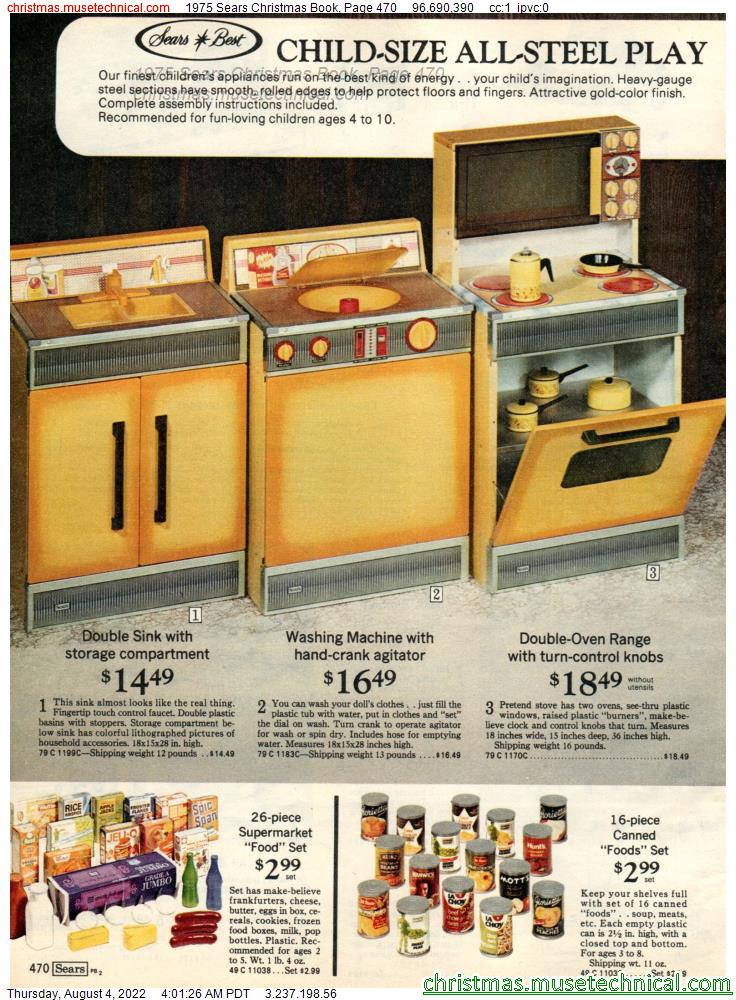 1975 Sears Christmas Book, Page 470