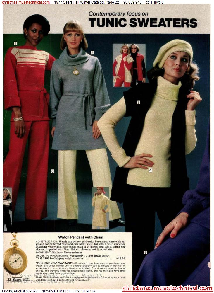 1977 Sears Fall Winter Catalog, Page 22