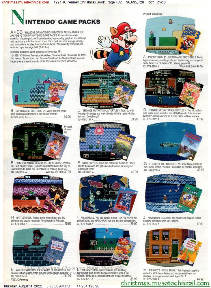 1991 JCPenney Christmas Book, Page 432