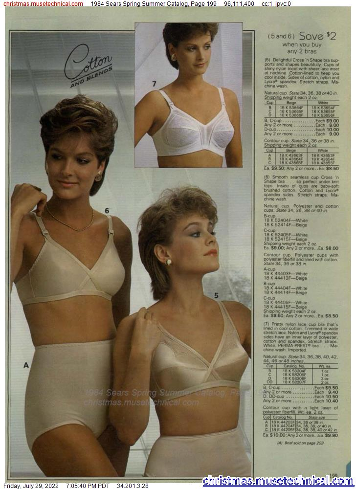 1984 Sears Spring Summer Catalog, Page 199