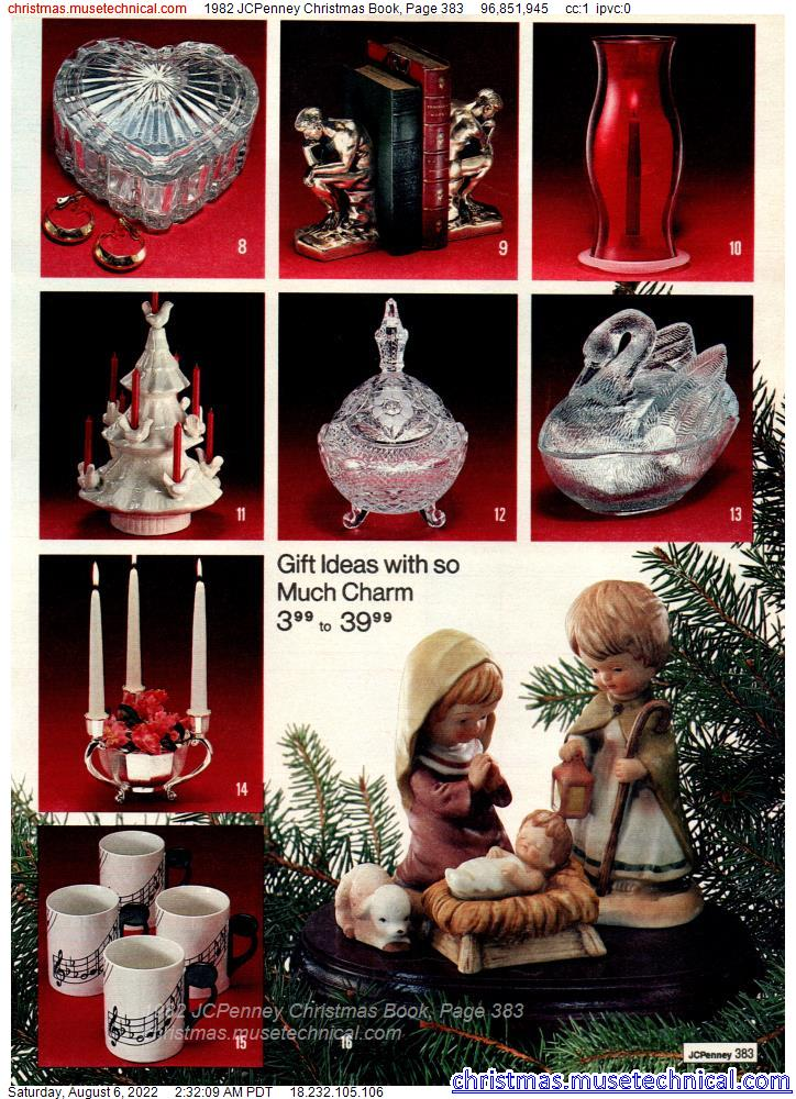 1982 JCPenney Christmas Book, Page 383