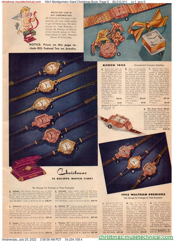 1941 Montgomery Ward Christmas Book, Page 8