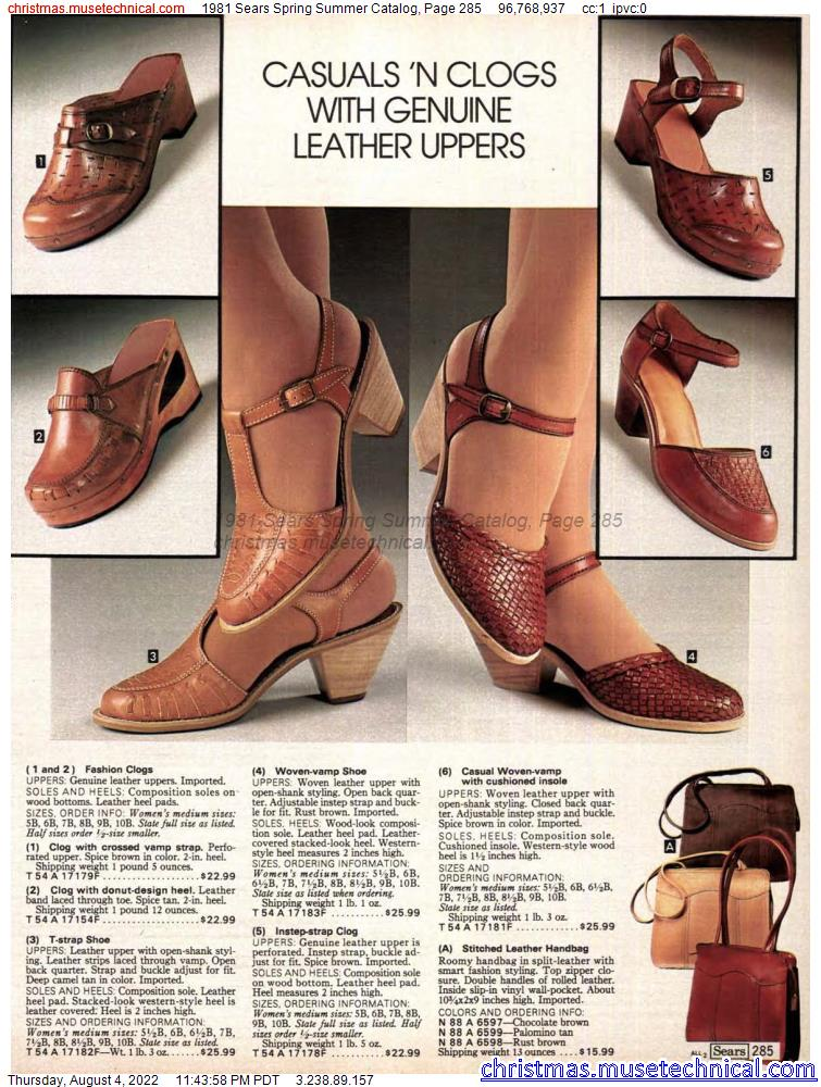 1981 Sears Spring Summer Catalog, Page 285