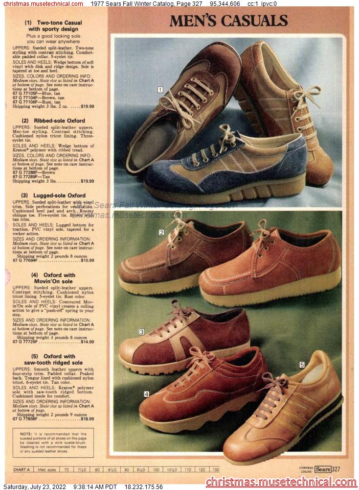 1977 Sears Fall Winter Catalog, Page 327