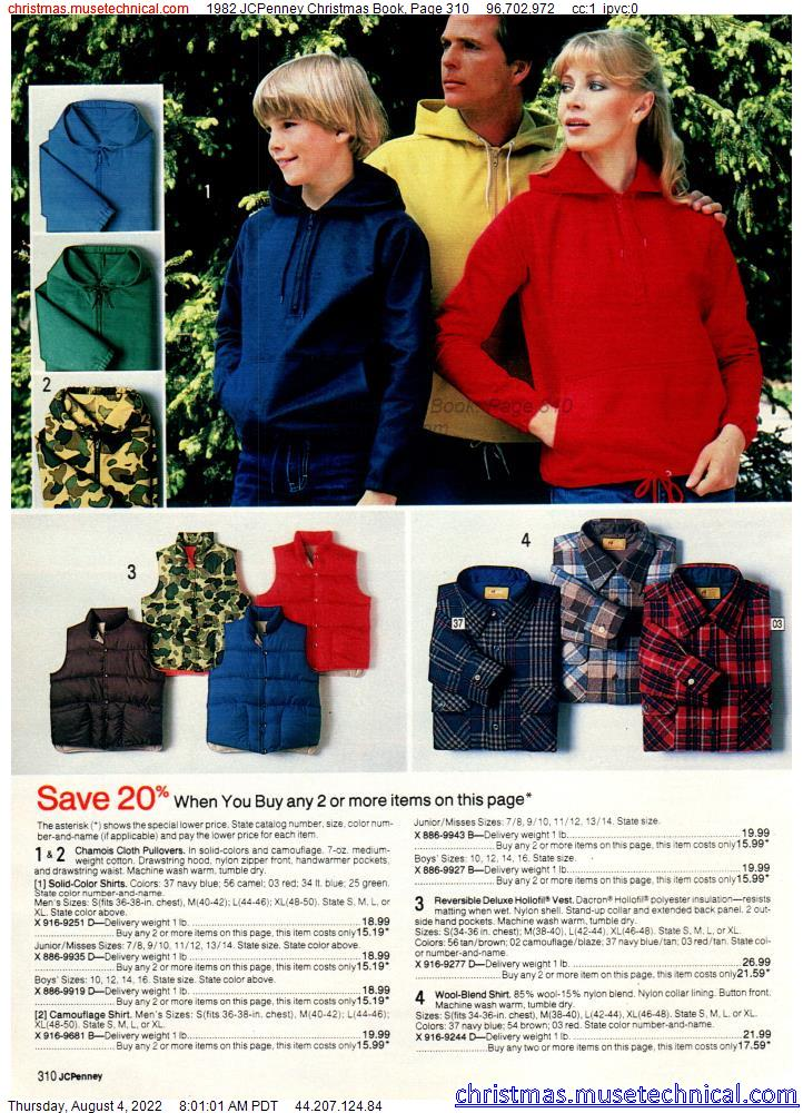 1982 JCPenney Christmas Book, Page 310