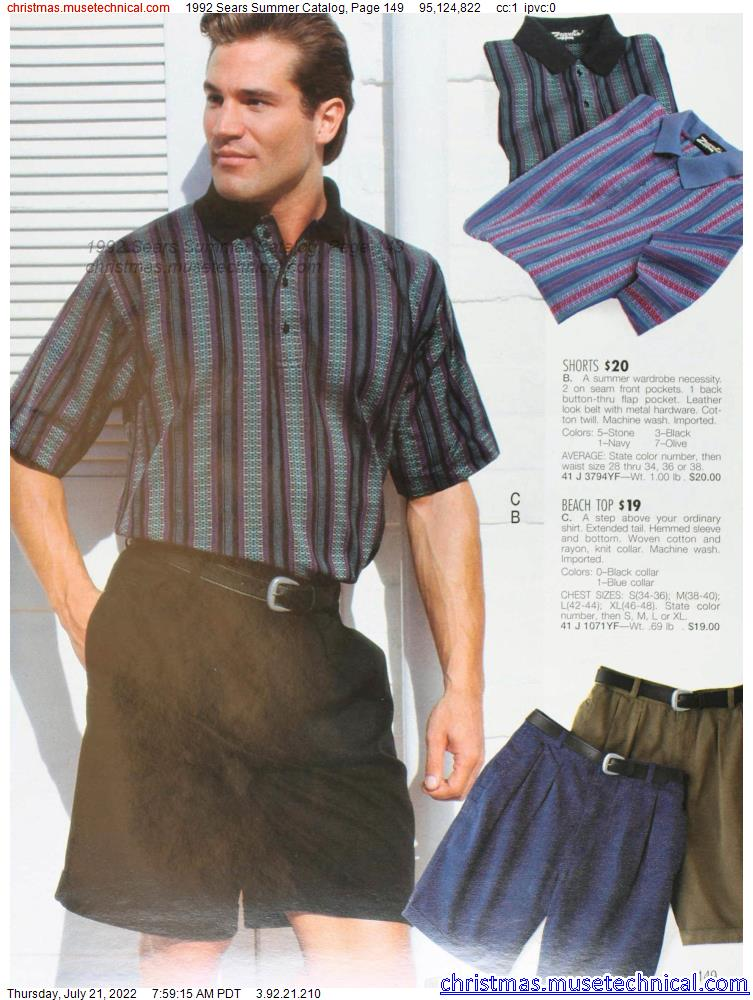 1992 Sears Summer Catalog, Page 149