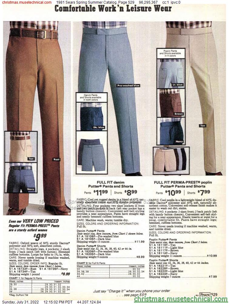 1981 Sears Spring Summer Catalog, Page 529