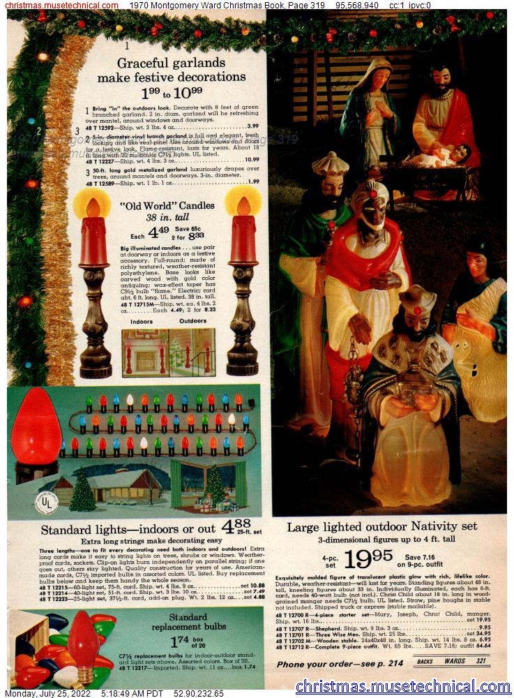 1970 Montgomery Ward Christmas Book, Page 319
