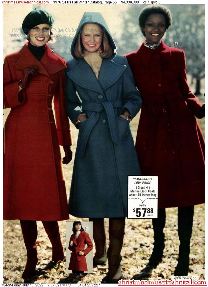 1976 Sears Fall Winter Catalog, Page 55