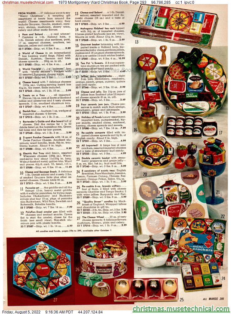 1970 Montgomery Ward Christmas Book, Page 293